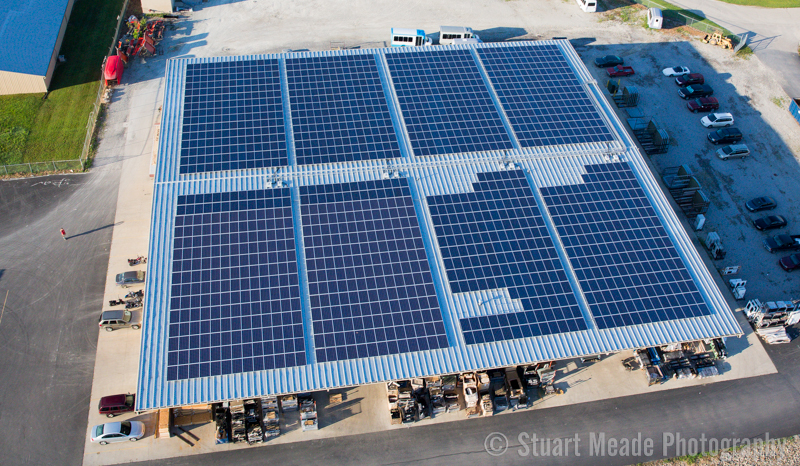 Solar Aerial Photo by Stuart Meade Photography