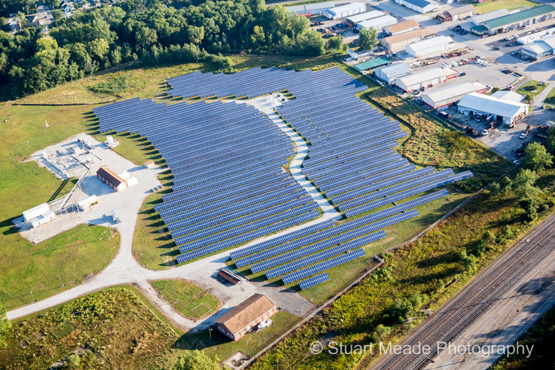 Solar Array Griffith Indiana by Gro Solar