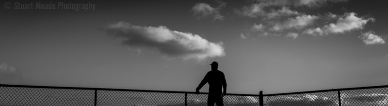 Silhouette photo with sky - Goshen
