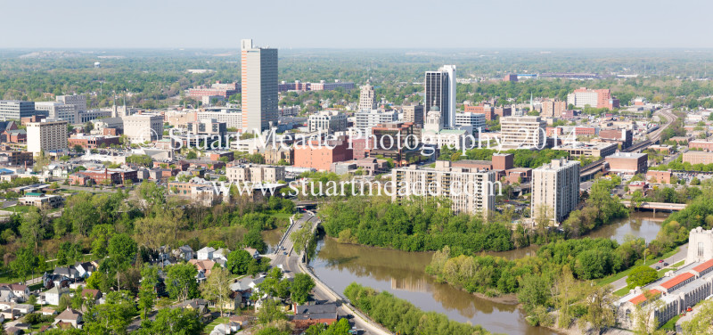 Fort Wayne IN Aerial Photo