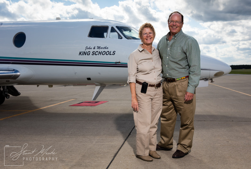 John and Martha King of King Schools